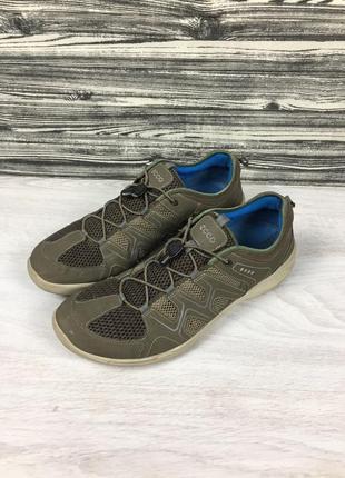 Фирменные кроссовки летние ecco geox сандалии