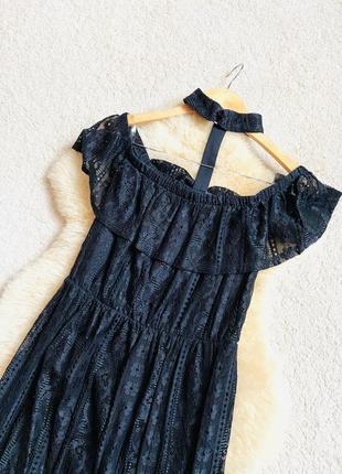 Шикарное пляжное платье в пол из кружев из сша