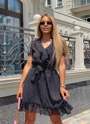 Платье женское шифоновое