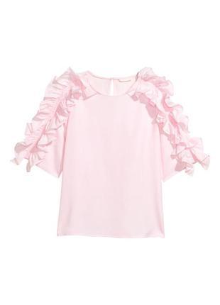 Новая хлопковая блуза h&m.