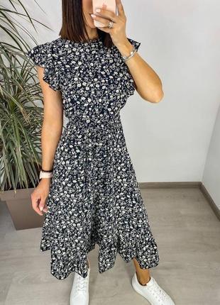 Платье женское нарядное летнее легкое миди длинное свободное с поясом бежевое4 фото