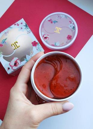 Гидрогелевые патчи от jayjun roselle с чаем каркаде