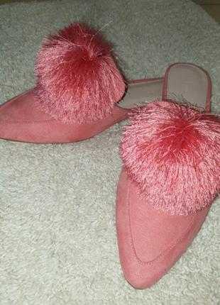 Мюлі рожеві