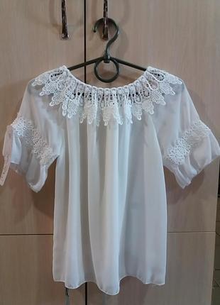 Блуза для девочки,италия.