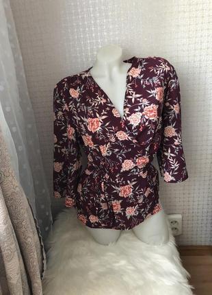 Шикарная блузка блуза рубашка3 фото