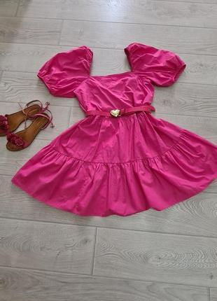 Красивое платье h&m м-л
