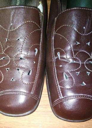 Стильные туфли *propedo* comfort walking кожа германия