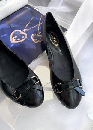 Tod's новые балетки туфли италия