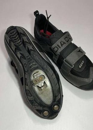 Велотуфли кроссовки diadora geko, 38р. 23,5 см. сост. отличное!