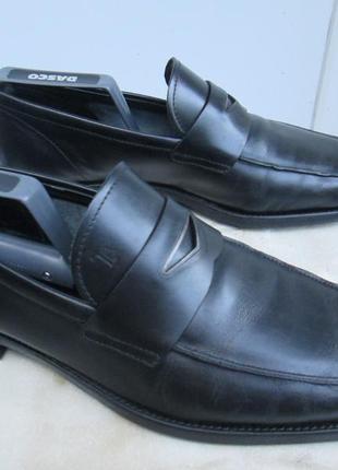 """Кожаные туфли пенни-лоферы  """" тods """"  42.5 р. ( 29 см ). италия."""