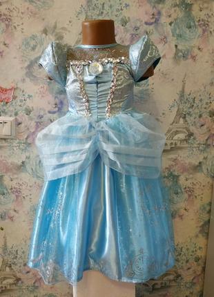 Платье золушки,попелюшка, карнавальный костюм принцессы