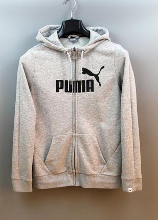 Крутезна спортивна жіноча кофта бренду puma