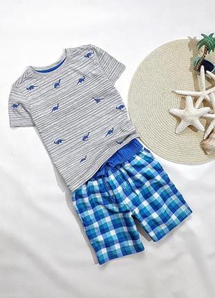 Летний набор футболка + шорты  на 3-4 года