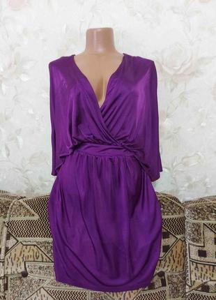 Шикарное, женственное платье с карманами love label размер s