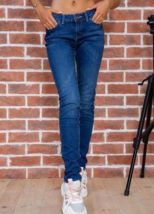 Джинсы женские regular fit цвет темно-синий размер 27 28 29 30 32 34