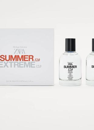 Zara extreme 12.0 × zara summer 12.0