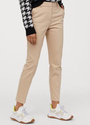 Новые брюки, штаны слаксы h&m, в составе хлопок