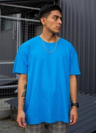 Оверсайз футболка without great ocean blue