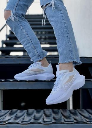 Женские кроссовки nike vista white