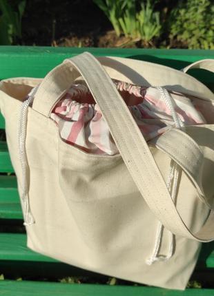 Стильная эко сумка шоппер