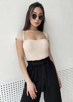 Женская футболка, топ bershka