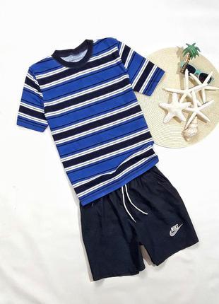 Летний набор футболка + шорты на 10-12 лет, состояние идеальное