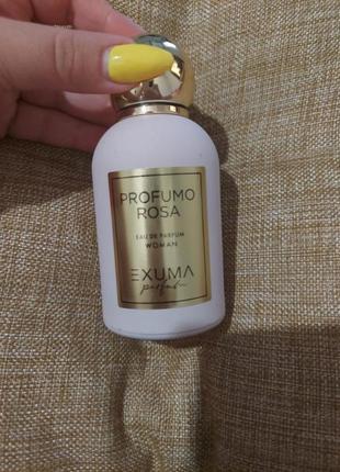 Exuma perfumo rosa