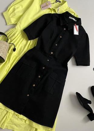Новое крутое джинсовое платье рубашка oasis