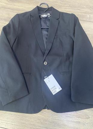 Новый пиджак h&m 7/8 лет