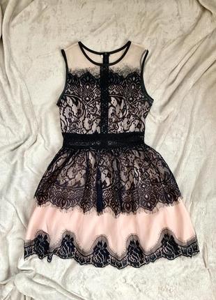 Кружевное платье / плаття з кружевом