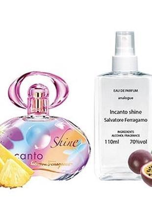 Salvatore ferragamo incanto shine парфюмированная вода 110 ml