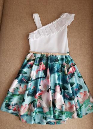 Святкове плаття сукня платье ted baker на 9 років