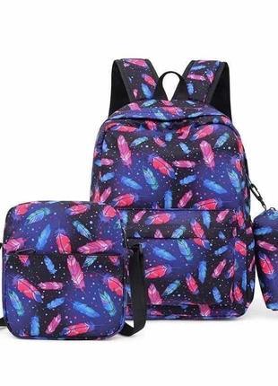 3 в1: рюкзак, сумка, пенал