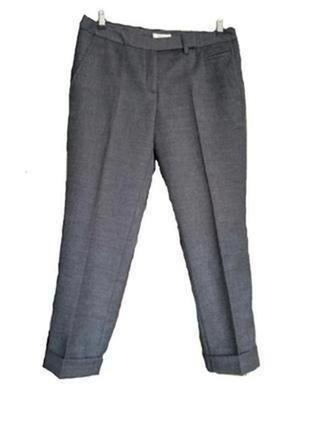 Gant фирменные укороченные брюки с подкатами