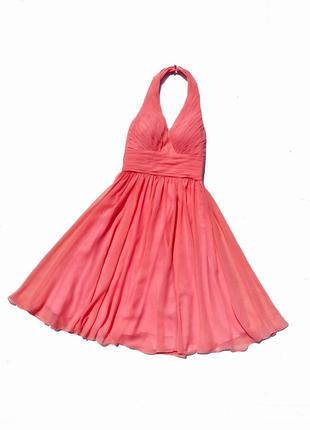 Шикарное вечернее розовое пышное платье edressit германия