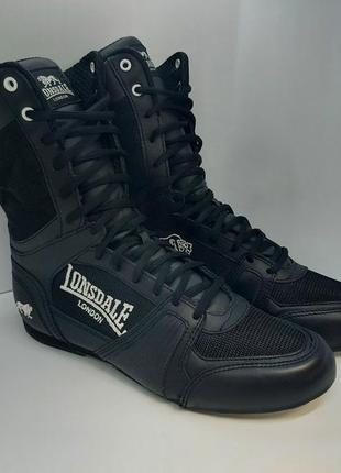 Боксёрки lonsdale contender boxing boots оригинал борцовки