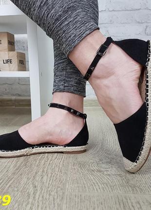 Женские босоножки замшевые черные, женские босоножки на низком каблуке, замшевые босоножки низкий ход