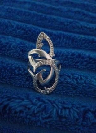 Кольцо серебро 925проба