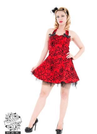 Платье рокабилли для косплея