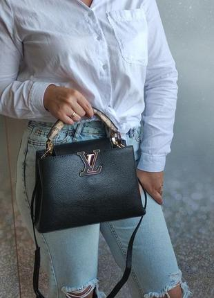 Брендовая сумка черная
