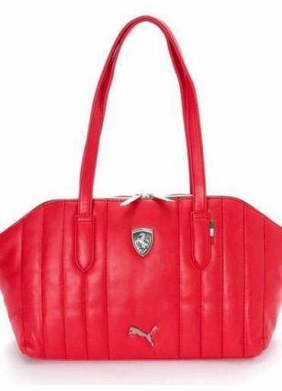 Вместительная сумка puma ferrari