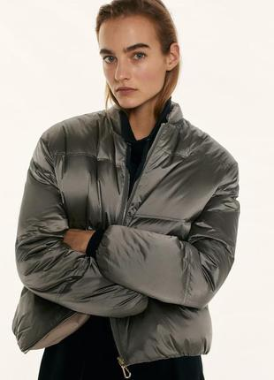 Пуфер куртка massimo dutti