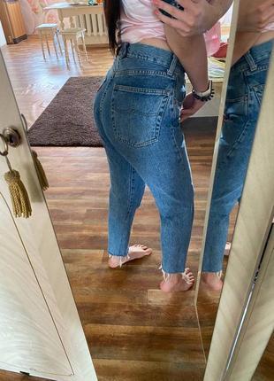 Женские джинсы мом9 фото