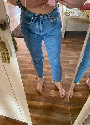 Женские джинсы мом8 фото