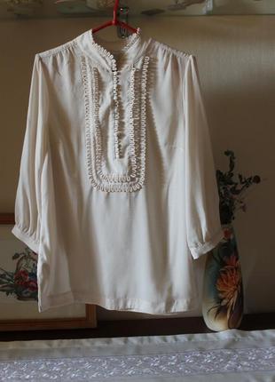 Нарядная офисная блуза