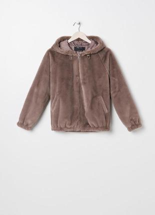 Куртка из искусственного меха, шубка