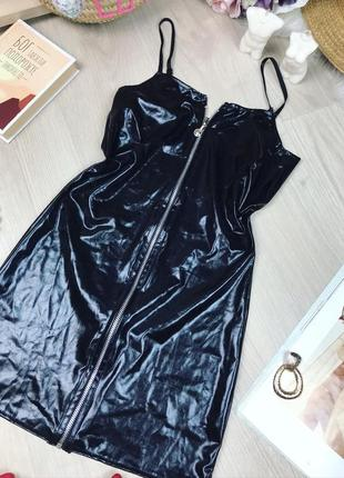 Платье-ночнушка под латекс