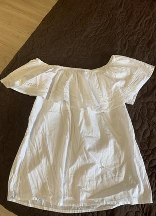 Майка блузка натуральная ткань