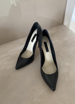 Классические кожаные туфли-лодочки mia may 💞