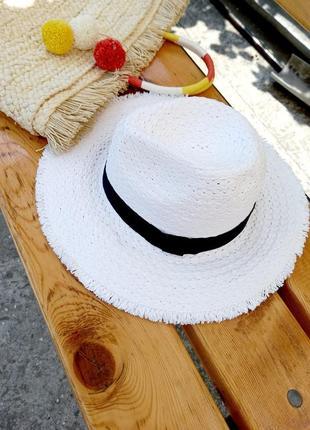 Соломенная шляпа / шляпа для моря